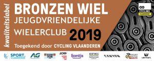 Bronzen jeugdlabel Cycling Vlaanderen
