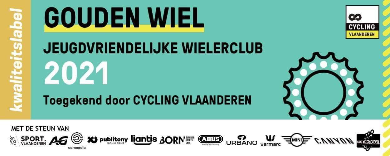 Gouden jeugdlabel Cycling Vlaanderen